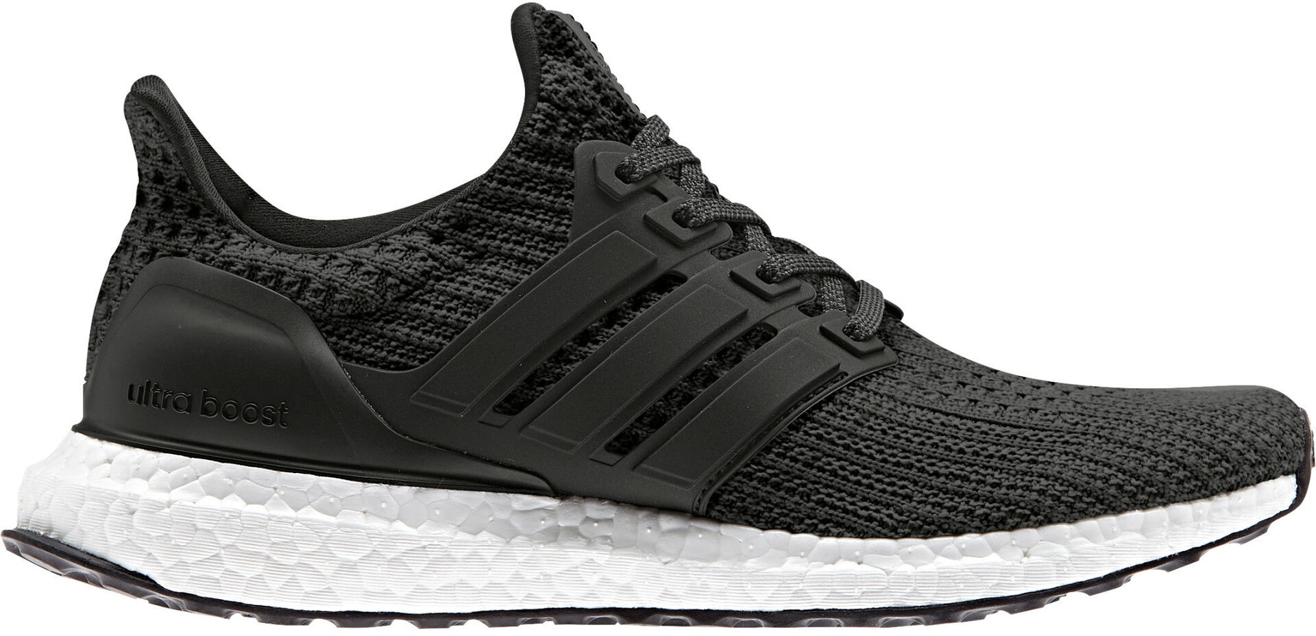 adidas Ultraboost Ultra Boost Trainers Black White Shoes